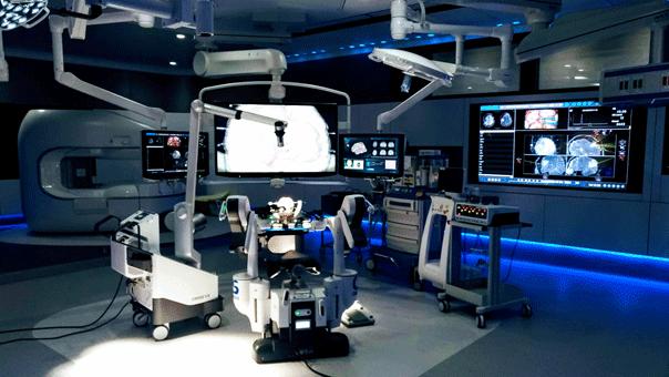 スマート治療室の写真